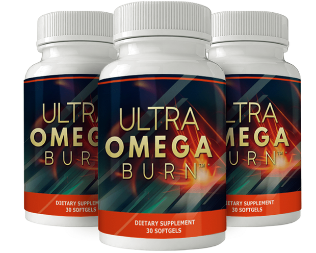3 bottles of Ultra Omega Burn
