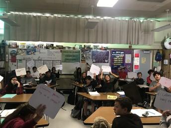Whiteboard in Spanish 1B