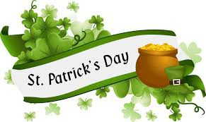 March 17th-St. Patrick's Day