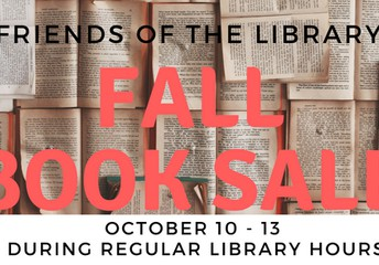 Friends of the Library Fall Book Sale!