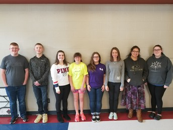Students of the month: February