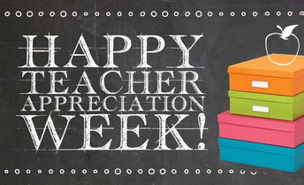 Next week is Teacher Appreciation Week. Join the Staff Appreciation Committee and show our teachers and staff some love!