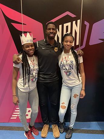 Girls Track Sets School Marks at New Balance National Indoor Meet