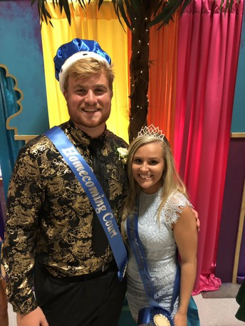 Heismeyer & Bissell Named 2019 Homecoming King & Queen