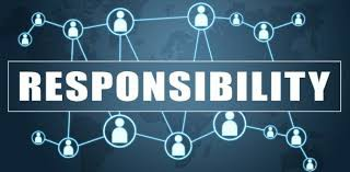 CHARACTER EDUCATION THEME FOR FEBRUARY:  RESPONSIBILITY