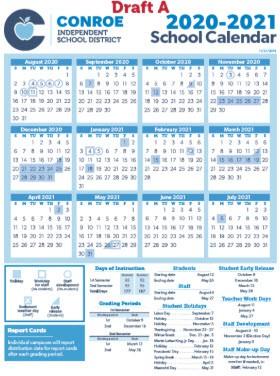 2020-2021 School Calendar Public Input