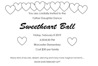 Father Daughter Dance - Home & School Sponsored