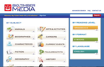 Big Timber Media - 6th - 8th Grade eBook Collection