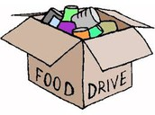 CentraI's Food Frenzy Food Drive