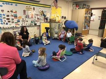 Mindful Moments in Ms. Julie's Class