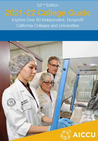 2021-2022 College Guide to CA Independent, Nonprofit Colleges and Universities