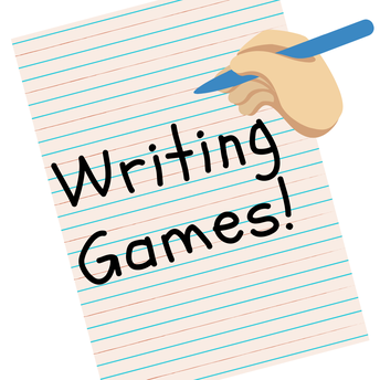 Educational Website and Teaching Tip of the Week: WRITING GAMES!