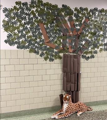 Tree and Big Cat