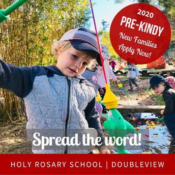 🦋 PRE-KINDY 2020 🦋 INVITING NEW FAMILIES TO APPLY