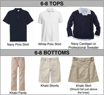 6-8 Uniform