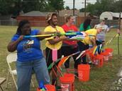 4th grade relay fun!