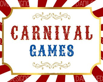TRY YOUR LUCK AT OUR FUN CARNIVAL GAMES