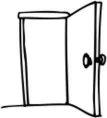 Puertas de entrada al llegar a la escuela por mañana