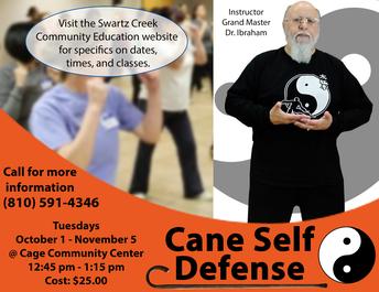 Self Defense - Fall Classes