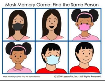 Mask Memory Game