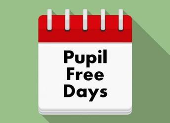 Pupil Free Days 2020