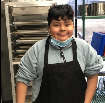 Chef Anthony Chavez, 6th Grade