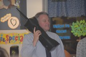 Mr. Purnell phones a friend