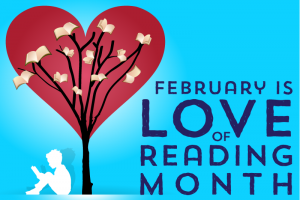 I LOVE TO READ MONTH!