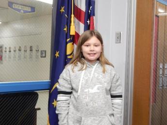 3rd Grade Panther Pride Winner