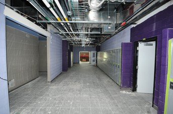 First floor west hallway