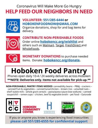 Hoboken Food Pantry