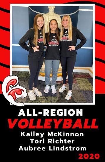 All-Region Volleyball