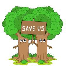 Save the Trees - receipts for uniform