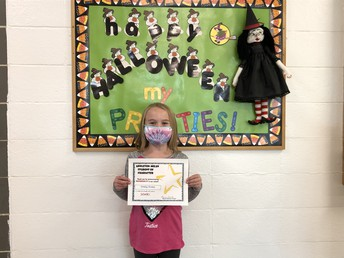 Appleton-Milan October Character Nominee Tenley Kranz