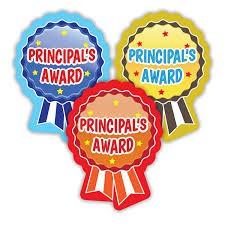 PRINCIPAL AWARDS - WEEK 2, TERM 1