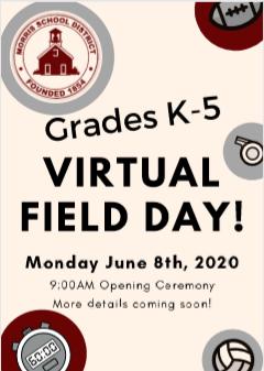 Virtual Field Day!- Dia de juegos de Campo (educacion fisica)
