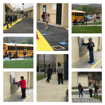 3rd-5th Grade Students Return to Campus