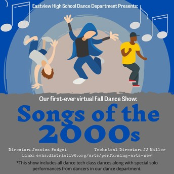 (New) EVHS Dance Department's Virtual Fall Dance Show