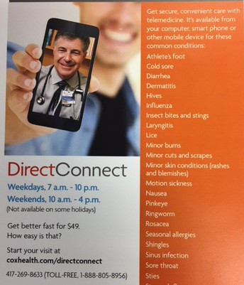 COX HEALTH DIRECT CONNECT