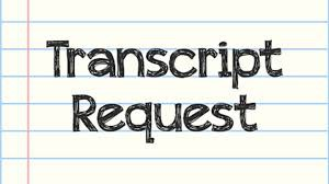 Attention Seniors! Use this link to request a final transcript.