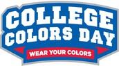 College Spirit Day - Wednesday