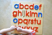 Play with the alphabet