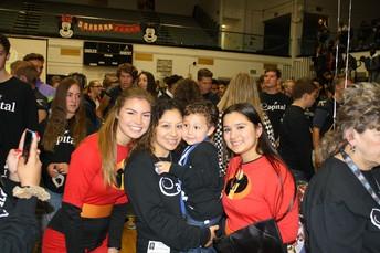 DECA Students, Remmy & Mom (Sonia)