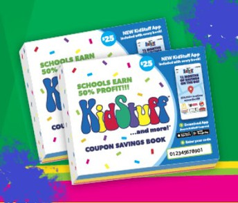 FUNDRAISER! KidStuff Coupon Books