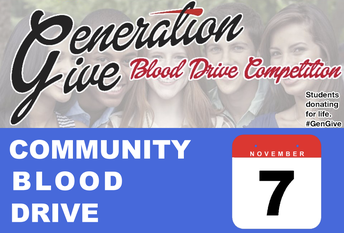 Generation Give Blood Drive Competition