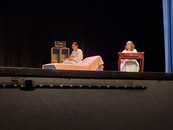 At One Act Play competition