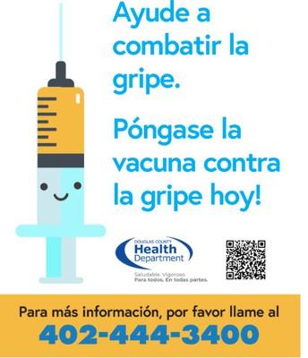 Póngase la vacuna contra la gripe hoy!