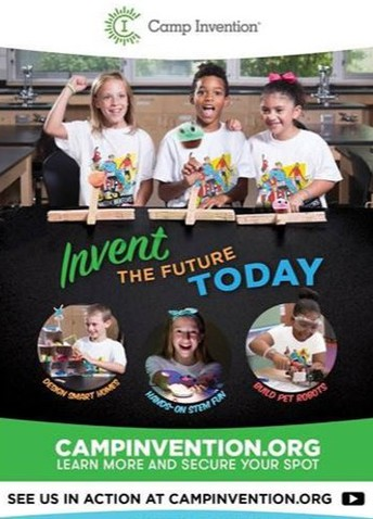 Attend Camp Invention This Summer!