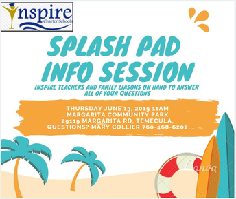 Splash Pad Info Session TEMECULA