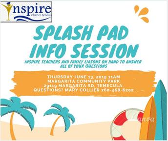 Splash Pad Info Session TEMECULA